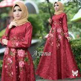 Dapatkan Segera Uc Dress Gamis Muslim Iyana Set Terusan Maxi Hijab Syar I Syari Simple Elegant Baju Muslimah Wanita Kebaya Modern Baloteli Tanpa Pasmina Anaay Ss Maroon Gaun Pesta