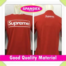UC Kaos Pria Premium / Baju Atasan T-Shirt Distro lengan Pendek / Tumblr Tee Letter SUPREME / Casual Kasual O neck Polos - Merah