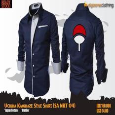 Uchiha Kamikaze Style Shirt (Kemeja Anime Naruto SA NRT 04)