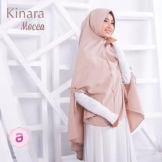 Ukhuwah Hijab Muslimah Syari' Kinara Premium - Mocca