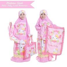 Harga Ukhuwah Mukena Anak Pink Branded