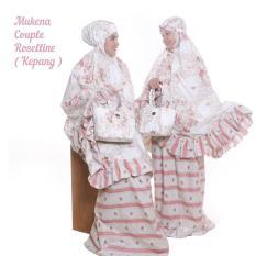 Spesifikasi Ukhuwah Mukena Katun Kepang Roselline Couple Ibu Anak Set Paling Bagus