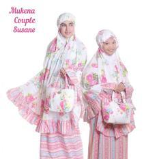 Toko Jual Ukhuwah Mukena Katun Susane Couple Ibu Anak Set
