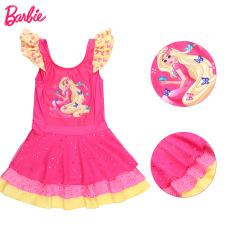 Ukuran Anak Perempuan Siam Lucu Putri Gaya Rok Baobao Anak-anak Pakaian Renang Baju Renang (802 Mawar)