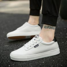 Beli Ukuran Besar Pria Sepatu Sepatu Musim Gugur Sepatu Baymini Putih Dan Hitam Baru