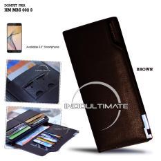 Toko Ultimate Dompet Pria Hm Mbs 002 03 Brown Dompet Cowok Kartu Atm Panjang Lipat Kulit Import Murah Ultimate