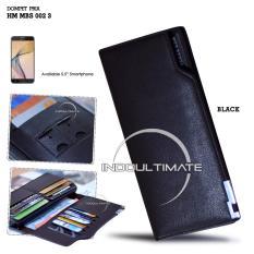 Spesifikasi Ultimate Dompet Pria Hm Sk9063 Black Dompet Cowok Kartu Atm Panjang Lipat Import Murah Beserta Harganya