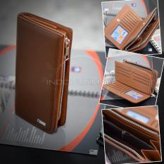 Jual Ultimate Dompet Pria Fs 912 Brown Dompet Cowok Kartu Atm Panjang Kulit Import Murah Branded Murah