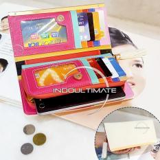 Spesifikasi Ultimate Dompet Wanita Jh C043L White Dompet Cewek Cewe Kartu Atm Panjang Lipat Kulit Import Murah Lucu Beserta Harganya