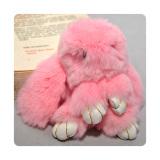 Harga Ultimate Gantungan Tas Bulu Kelinci Kopenhagen Original 14Cm Warna Pink Ultimate Terbaik