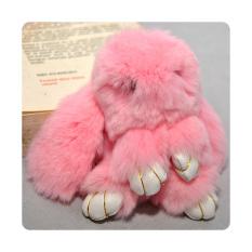 Jual Ultimate Gantungan Tas Bulu Kelinci Kopenhagen Original 14Cm Warna Pink Murah Di Jawa Timur
