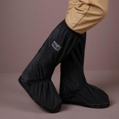 Ultimate Outdoor Rain Boots Silinder Panjang Sepatu Hujan Cover Waterproof Hari Hujan Outdoor Reusable Pelindung Penebalan dan Tahan Aus Tinggi Boots Cover-Intl