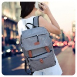Toko Ultimate Polo Backpack Korean Pria Wanita 839 Tas Ransel Laptop Kanvas Kualitas Ori Import Gray Lengkap Jawa Timur
