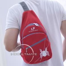 Diskon Produk Ultimate Tas Pria Tb 02 Red Tas Kerja Selempang Slempang Import Korea Kecil Batam Traveling Murah