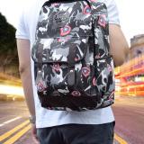 Dapatkan Segera Ultimate Tas Backpack Unisex Pria Wanita Punggung Ransel Kuliah Korean Bag Js 8090 Army Gray
