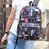 Beli Ultimate Tas Backpack Wanita Punggung Ransel Kuliah Korean Bag Js 103Australia Black Murah