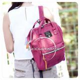 Review Ultimate Tas Ransel Wanita Fs 90546 Red Tas 2In1 Cewek Backpack Korea Import Batam Murah Branded Cantik