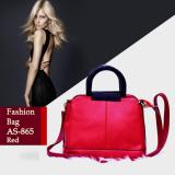 Ultimate Tas Wanita As 865 Red Tas Korea Cantik Import Batam Murah Branded Elegant Top Handle Bag High Quality Promo Beli 1 Gratis 1