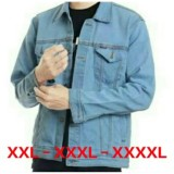 Jual Ultimoshion Jaket Jeans Pria Jumbo 2Xl 3Xl 4Xl Murah Di Indonesia