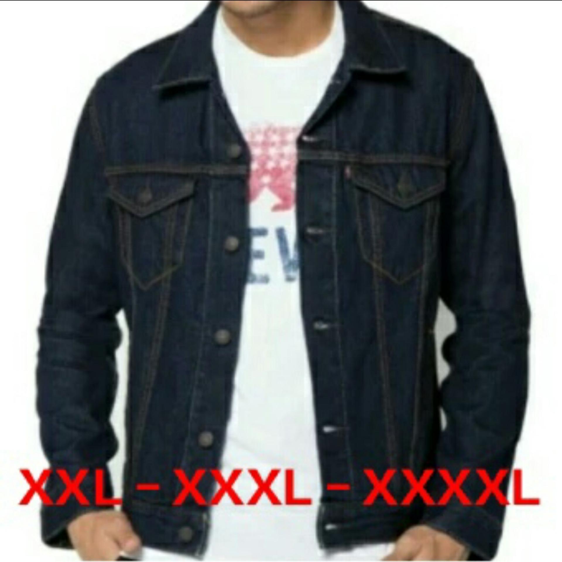 Big Info Harga Promo Produk Terbaru Hanya Untuk Anda Jaket Jeans Wanita Oversize Warna Ultimoshion Pria Jumbo 2xl 3xl 4xl