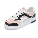 Jual Ulzzang Korea Fashion Style Angin Mantra Warna Sepatu Sekolah Sepatu Sneakers Putih Merah Muda Oem
