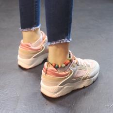 Harga Ulzzang Korea Fashion Style Perempuan Permukaan Jala Sepatu Lari Datar Sepatu Wanita Sepatu Olahraga Merah Muda Warna Merk Other