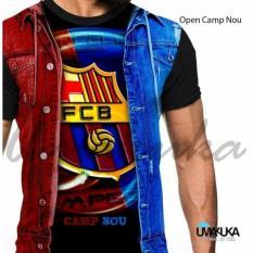 Diskon Umakuka Kaos 3D Pria Dewasa Full Print Barcelona Open Camp Nou Dki Jakarta