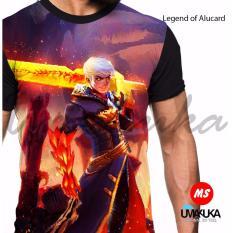 Beli Umakuka Kaos 3D Pria Wanita Dewasa Full Print Mobile Legend Alucard Skin3 Kredit