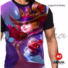 Beli Umakuka Kaos 3D Pria Wanita Dewasa Full Print Mobile Legend Herley Secara Angsuran