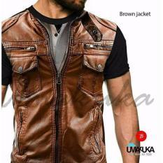 Umakuka Original Kaos 3D Pria / Wanita Dewasa Full Print - Suit BROWN JACKET