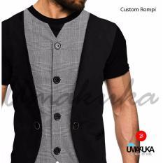 Umakuka Original Kaos 3D Pria / Wanita Dewasa Full Print - Suit CUSTOM ROMPI