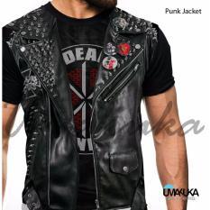 Umakuka Original Kaos 3D Pria / Wanita Dewasa Full Print - Suit PUNK JACKET