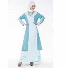 Uncle Sam Muslimah Jubah Women Dress Chiffon Long Sleeves Maxi Dress