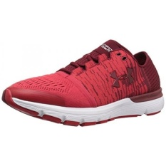 Under Armour Mens SpeedForm Gemini 3 Graphic Running Shoes, Cardinal/Red, 9.5 D US - intl