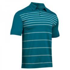 Under Armour Short Sleeve Coolswitch - Blue - Kaos Polo Kerah Original - Kaos Golf - Baju Golf-Polo T-Shirt