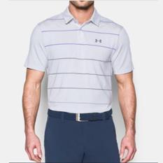 Under Armour Short Sleeve CoolSwitch Pivot - Purple Chic - Kaos Polo Kerah Originial - Baju Golf