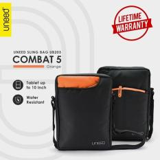 Uneed Combat 5 Tas Selempang Pria Universal / Tas Sling Bag for Tablet 10inch - Water Resistant UB203 - Orange