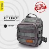 Top 10 Uneed Foxtrot Tas Selempang Pria Tas Sling Bag For Tablet 7 Inch Ub206 Abu Abu Online
