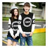 Toko Uc Kaos Couple Triple X Tshirt Polos Sweater Couple Cp X Sweater Polos Kaos Pria Wanita 2L Hitam D3C Unicell Distro Indonesia