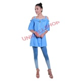 Beli Barang Uc Dress Sabrina Denim Gaun Wanita Dress Woman New Midi Dress Korean Dress Dress China Stylist Nr D3C Online