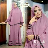 Harga Uc Baju Dress Gamis Muslim Syfarose Syari Hijab Busana Muslimahah Ungu Lavender Seken