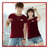 Review Uc Kaos Couple Levi Kaos Oblong Fans Club Kaos Pasangan Tshirt Pasangan Pakaian Kembar Kaos Pria Wanita Lc Maron D3C