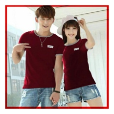 Uc Kaos Couple Levi Kaos Oblong Fans Club Kaos Pasangan Tshirt Pasangan Pakaian Kembar Kaos Pria Wanita Lc Maron D3C Unicell Distro Murah Di Dki Jakarta