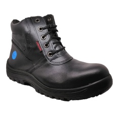 Unicorn 1601 mid boot safety shoes - Black