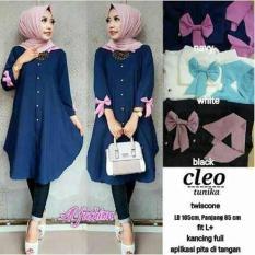 Unik Baju Atasan Wanita Tunik Baju Muslim Blus Muslim Cleo Tunika Limited