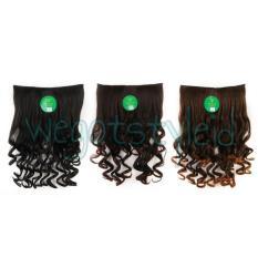 Unik Hairclip Sosis Keriting Gantung 50 Cm Hair Clip Klip Korea Instaclip Limited