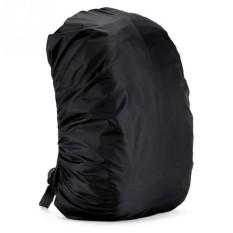Mairu Unique Bag Rain Cover Tas Mantel Hujan Backpack  Waterproof - Raincoat 34L Hitam