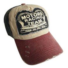 Harga Adapula Katun Topi Baseball Cap Sepeda Motor Tepi Topi Baseball Yang Dapat Disesuaikan Penggerindaan Anggur Merah Internasional Internasional Oem Ori