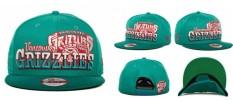 Unisex Basket Caps Pria Wanita Memphis Grizzlies NBA Snapback Caps Resmi Olahraga Topi Musim Panas Sun Outdoor (Hijau) -Intl
