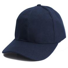 Jual Topi Baseball Unisex Warna Solid Klasik Topi Olahraga Musim Panas Indonesia Murah